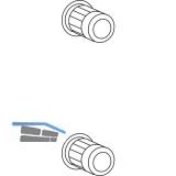 HAUTAU ATRIUM HS 300 Gewindebuchsensatz M5, Inhalt: 2 Stück