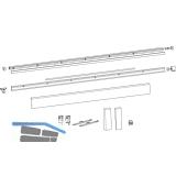 HAUTAU ATRIUM HKS 200Z/160S/SP Schienen-Set, FFB 1451-1650 mm, weiß