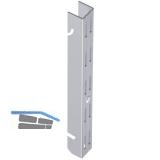 Easy Hängeschiene, Länge 1200 mm, Stahl weiß (ähnlich RAL 9003)