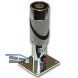 Haftmagnet mit Distanzkonsole und Unterbrechertaster, 50 mm, Stahl verzinkt