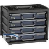 RAACO Handybox Assorter 55, bestück mit 4 Sortimentkoffer