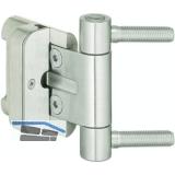 Haustürband BAKA 2D/20 m. Stiftsicherung, Zapfen 9,9 x 40 mm, Stahl verzinkt
