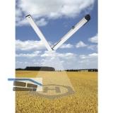 Elektrobeschlagschere HAUTAU SBS 500 S, Aluminium  einbrennlackiert RAL 9016