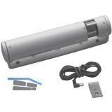 Zusatzverriegelung HAUTAU ZV/R, rechts, Aluminium einbrennlack. RAL 9016