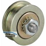 Schiebetor-Stahlrolle ø 45 mm, Stahl galvanisch verzinkt