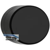 HEWI Wandtürpuffer 610 - 24 mm, ø 35 mm, Nylon tiefschwarz