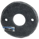 HÖRTNAGL Rosette rund WC, - FULP u. Imst, 53 mm, verzinkt schwarz passiviert