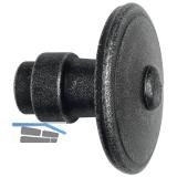 HÖRTNAGL Knopfdrückerlochteil, rund fix für FULP, Imst,60,verz. schwarz passiv.