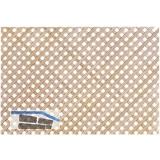 Holzgitter ganze Tafel, diagonal, 1230 x 600 mm, Ahorn
