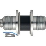 HOPPE Befestigungszubehör paarweise Glas, BS-701/B, TS 8-13mm, Stahl verz.
