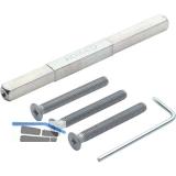 Befestigungsset Schnellstift zu Sicherheits-Drückergarnitur, TS112-117