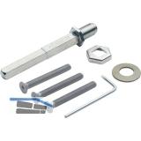 Befestigungsset Schnellstift zu Sicherheits-Wechselgarnitur, TS112-117