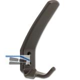 Huthaken Amun Breite 57 mm, Höhe 150 mm, Kunststoff braun