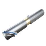 Federband, Bandhöhe 155 mm, Rollen ø 18 mm, Stahl blank mit Messingring