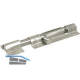 Grendelriegel abschließbar, 150 mm, Edelstahl