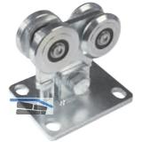 Beschlagset für freitragende Tore K2140 max. Torbreite 3,5 m, Stahl verzinkt