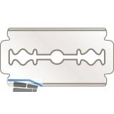 MARTOR Industrieklinge mit Gillette-Lochung Länge 43 mm