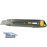 STANLEY Interlock Messer mit 18 mm Abbrechklinge und Klemm System
