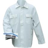 Jacke Standard weiß Gr.50 100% Baumwolle