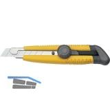 KDS Japanmesser mit 18 mm Abbrechklinge und Fixier Rändelschraube