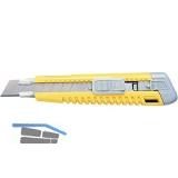 KDS Japanmesser mit 18 mm Abbrechklinge, Federraster und Fixierkeil