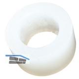 Distanzhülse für Ganzglasbefestigung, 10mm, Kunststoff transparent