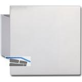 KWS Plattengriff SANDRA - 100 x 130 x 10mm, Alu silber elox.