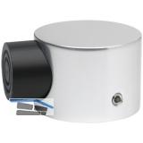 KWS Bodentürpuffer  - ø 50 mm, Höhe 35 mm, silber eloxiert