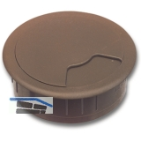 SECOTEC Kabeldurchgang rund 60 mm 3-teilig braun SB-1 BL5