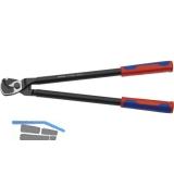 KNIPEX Kabelschere Länge 500 mm für Kabeldurchmesser 27 mm AWG 5/0