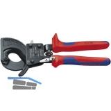 KNIPEX Kabelschneider Länge 250 mm für Kabeldurchmesser 32 mm