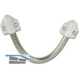 Kabelübergang 10318 für Kabel bis 7 mm, 300 mm, Konsole grau, Messing vernickelt