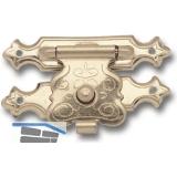 Kassettenverschluss 32x20 mm, Stahl vermessingt