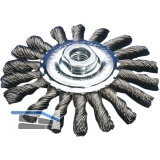 LESSMANN Kegelbürste gezopft  100 x 12 x 0.50 mm M14 Stahldraht