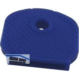 Kennkappe für Zylinderschlüssel Kunststoff dunkelblau