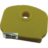 Kennkappe für Zylinderschlüssel Kunststoff gelb