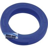 Kennring für Zylinderschlüssel mittel DM 25 mm, Kunststoff dunkelblau