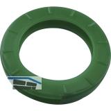 Kennring für Zylinderschlüssel mittel DM 25 mm, Kunststoff dunkelgrün