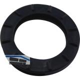 Kennring für Zylinderschlüssel mittel DM 25 mm, Kunststoff schwarz
