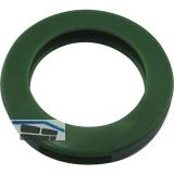 Kennringe groß für Zylinderschlüssel 29mm, Kunststoff dunkelgrün