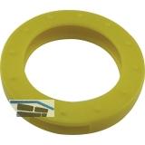 Kennringe groß für Zylinderschlüssel 29mm, Kunststoff gelb