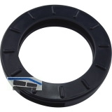 Kennringe groß für Zylinderschlüssel 29mm, Kunststoff schwarz