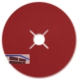 STARCKE Keramik-Fiberscheibe ø  115 x 22.2 mm Korn  24 für Edelstahl