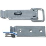 Kistenverschluss absperrbar Breite 32 mm, L 110 mm, verzinkt