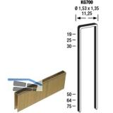 Klammern Type KG 700 50 mm Stahldraht verzinkt und geharzt (10000 St)