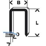 BOSCH Klammern Typ 55 Länge 16 mm Breite 6 mm