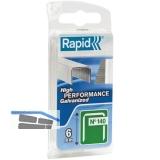 RAPID Klammern Type 140  6 mm aus Stahldraht (970 Stück) Blister