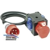 Kompaktverteiler St.Anton H07RN-F 5G1,5 2 x 250V/1x400V IP44