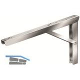 Konsole Balkonette klappbar/verstellbar, Tiefe 400 mm, verzinkt