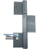 Konstruktionsband 3-tlg. 260 x 50 x 5 mm, Stahl blank